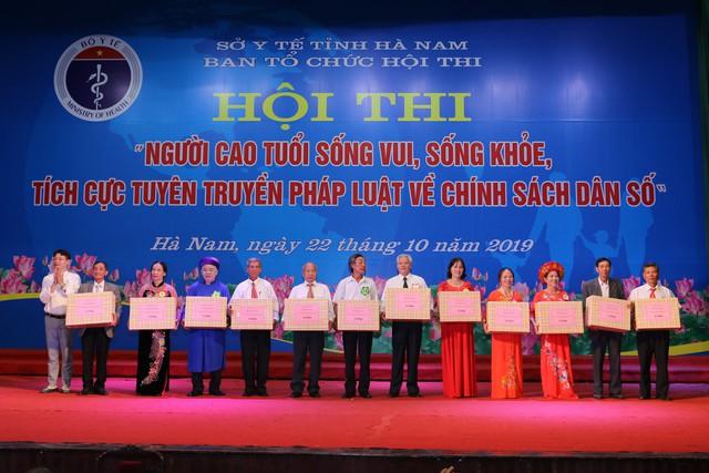 Hà Nam tổ chức Hội thi người cao tuổi sống vui sống khỏe, tích cực tuyên truyền về chính sách dân số - Ảnh 10.