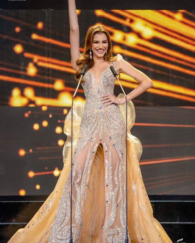 Hình thể bốc lửa của tân Hoa hậu Hòa bình 19 tuổi, cao 1,84 m - Ảnh 1.