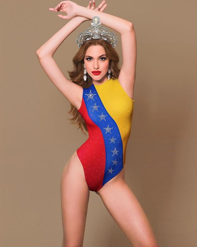 Hình thể bốc lửa của tân Hoa hậu Hòa bình 19 tuổi, cao 1,84 m - Ảnh 9.