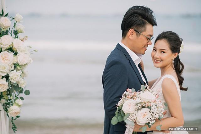 Ảnh cưới của nàng thơ xứ Huế Kiều Oanh - Ảnh 1.