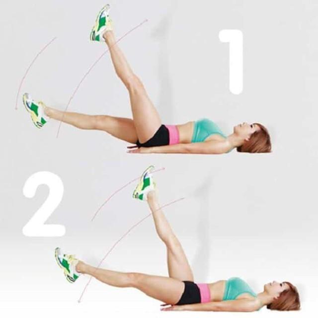 Bài tập thể dục giảm mỡ bụng ngay trên giường cho nàng lười - Ảnh 6.