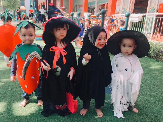 """Thích thú với lễ hội Halloween và những """"con ma"""" siêu đáng yêu - Ảnh 3."""