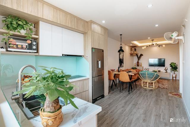 Mua căn hộ 940 triệu, đôi vợ chồng 9x dùng 118 triệu biến không gian sống 67m² thành nơi ở đẹp đến từng chi tiết - Ảnh 14.