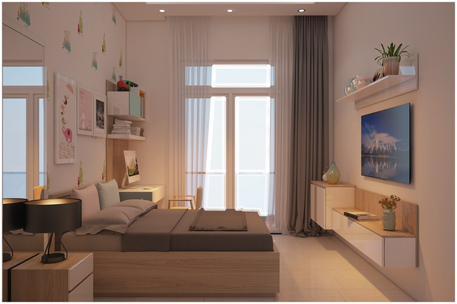 Căn biệt thự mini 3 tầng quá đỗi đáng yêu nhờ cách sắp xếp nội thất - Ảnh 3.
