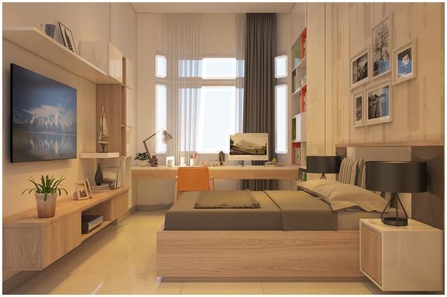 Căn biệt thự mini 3 tầng quá đỗi đáng yêu nhờ cách sắp xếp nội thất - Ảnh 5.