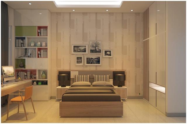 Căn biệt thự mini 3 tầng quá đỗi đáng yêu nhờ cách sắp xếp nội thất - Ảnh 6.