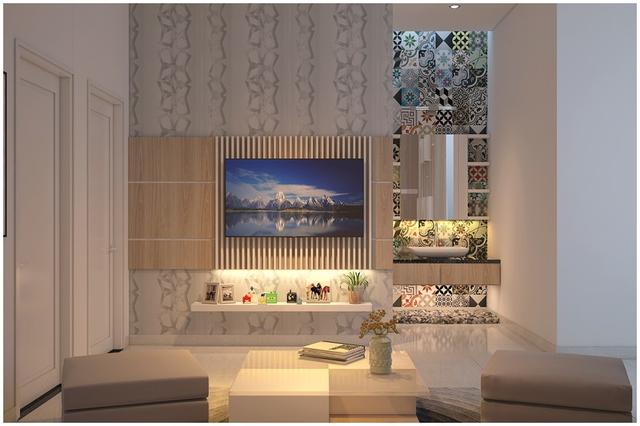 Căn biệt thự mini 3 tầng quá đỗi đáng yêu nhờ cách sắp xếp nội thất - Ảnh 10.