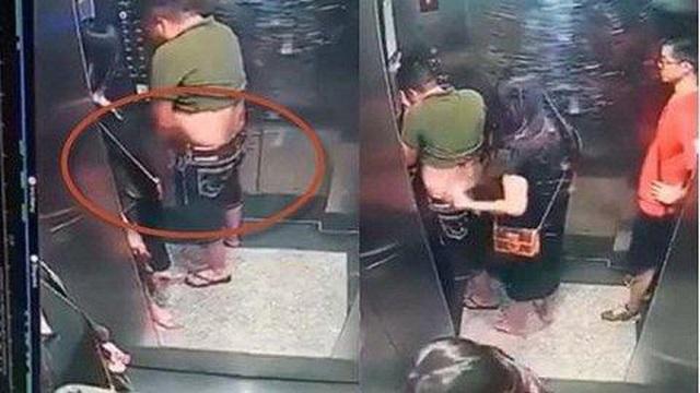 Phẫn nộ người đàn ông hồn nhiên tiểu bậy trong thang máy - Ảnh 3.