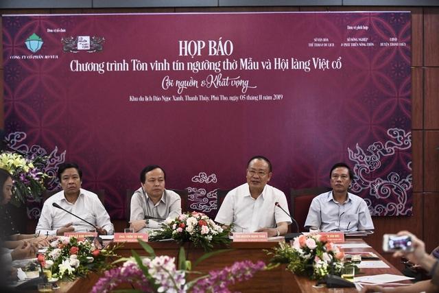 Tôn vinh tín ngưỡng thờ Mẫu và Hội làng Việt cổ - Ảnh 1.
