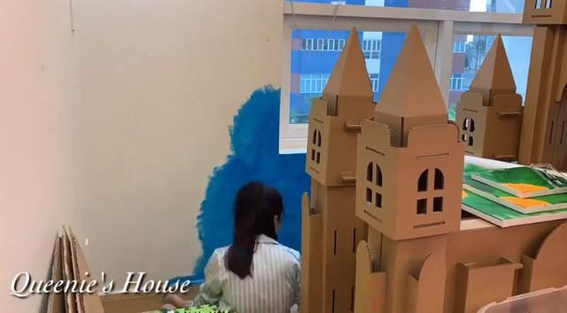 Diễn viên Vân Trang tự tay biến phòng con gái thành một căn phòng như bước ra từ truyện cổ tích mà bất cứ bố mẹ nào cũng phải ngưỡng mộ - Ảnh 8.