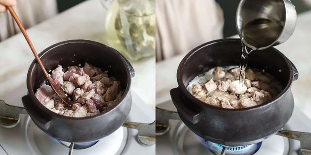 Học người Hàn nấu món canh thịt, ăn vào tiết trời mùa đông là ngon số 1! - Ảnh 3.