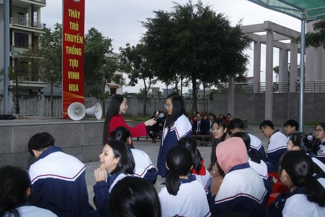 Hà Nam tổ chức nhiều hoạt động truyền thông cho học sinh các trường trung học - Ảnh 3.