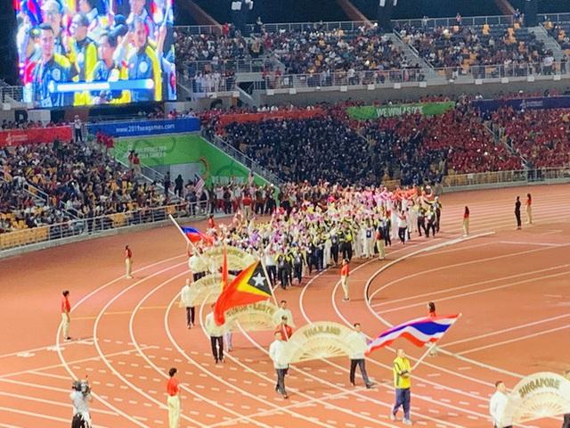 Chủ nhà Philippines trao cờ đăng cai SEA Games 31 cho Việt Nam - Ảnh 19.