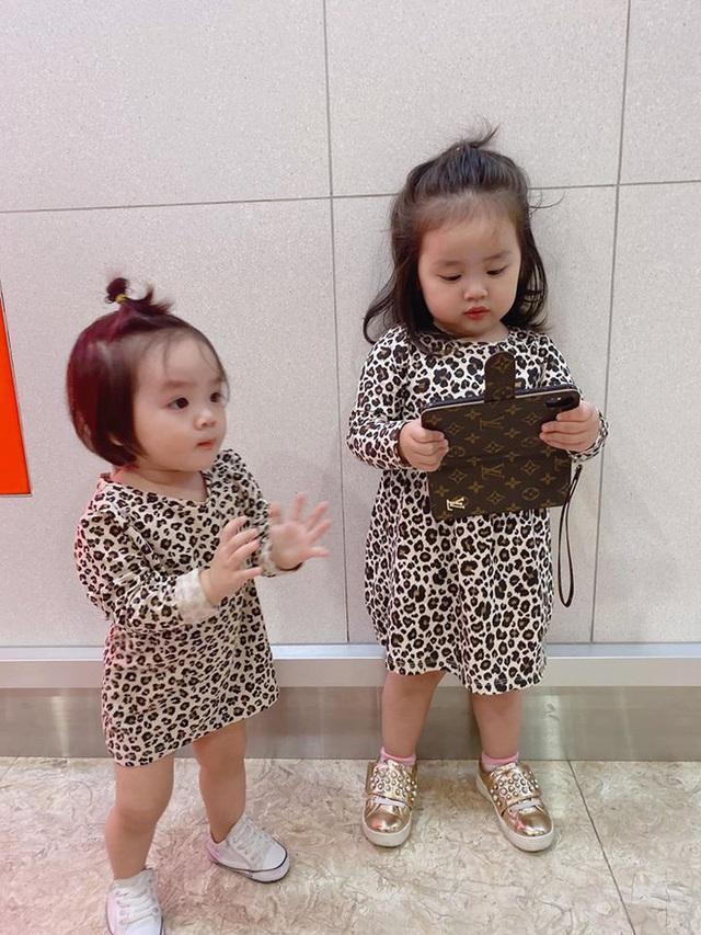 Vẻ đáng yêu của hai con gái Hoài Lâm - Ảnh 5.