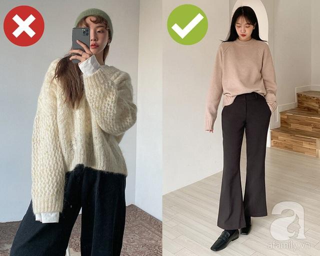 3 lỗi diện áo len nơi công sở: Nhẹ thì dìm dáng kém xinh, nặng thì kém duyên hết sức - Ảnh 4.