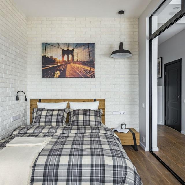 Vỏn vẹn 25m² nhưng căn hộ nhỏ với vẻ ngoài độc đáo vẫn khiến người xem mãn nhãn vì sự kết hợp siêu mượt mà - Ảnh 7.