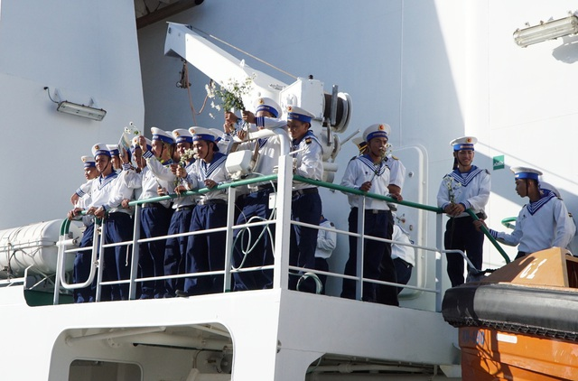 Xúc động lễ xuất quân làm nhiệm vụ tại quần đảo Trường Sa - Ảnh 6.