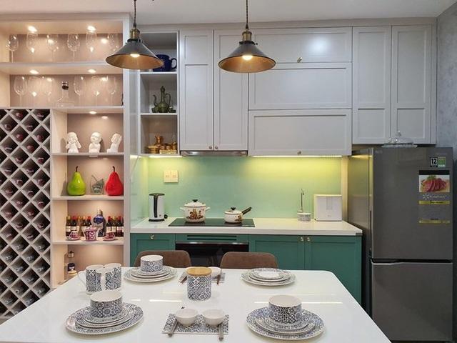 380 triệu đồng giúp cải tạo căn hộ 10 năm tuổi như rộng gấp đôi - Ảnh 6.