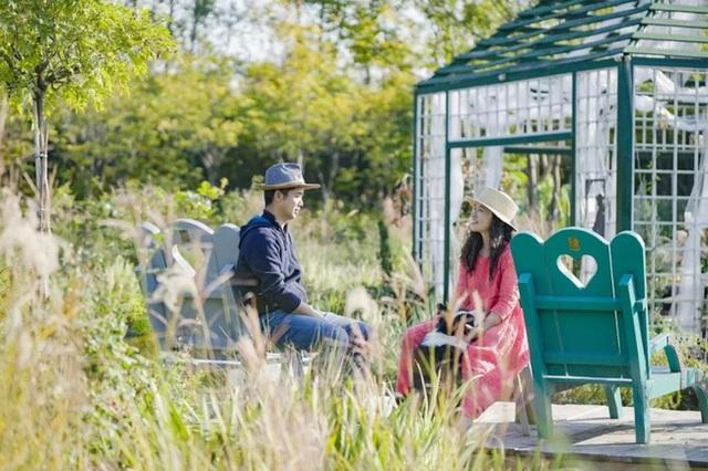 Cặp vợ chồng trẻ dành 5 năm để biến khu đất hoang rộng 6000m² thành khu vườn thiên đường của cỏ cây, hoa lá - Ảnh 3.
