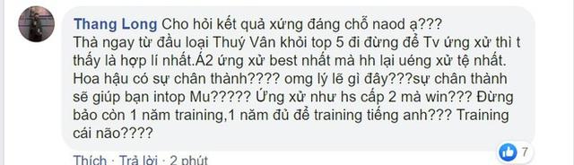 Khánh Vân gây tranh cãi khi là tân Hoa hậu Hoàn vũ Việt Nam  - Ảnh 5.