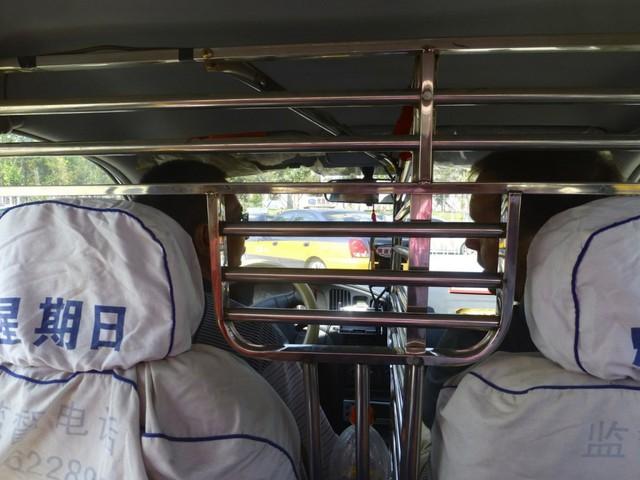 Khoang bảo vệ tài xế taxi được một số nước trên thế giới áp dụng.