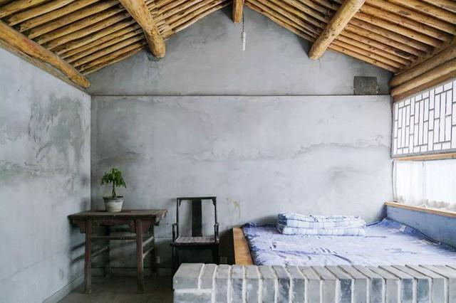 Phòng ngủ giản đơn.