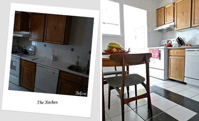 Không gian nấu nướng.