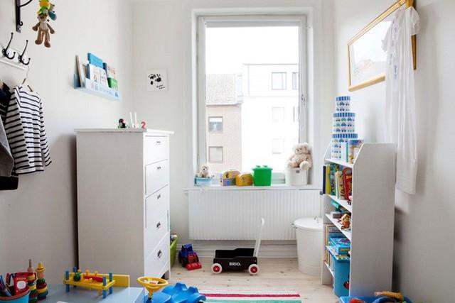 Không gian phòng bé nhỏ xinh, vui nhộn.