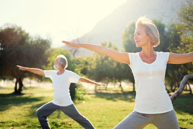Thể dục thể thao đều đặn giúp xương chắc khỏe và kéo dài tuổi thọ