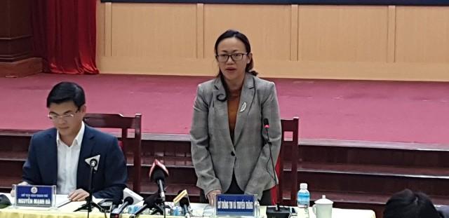 Ông Nguyễn Mạnh Hà và bà Lê Ngọc Hân. Ảnh: Minh Lý