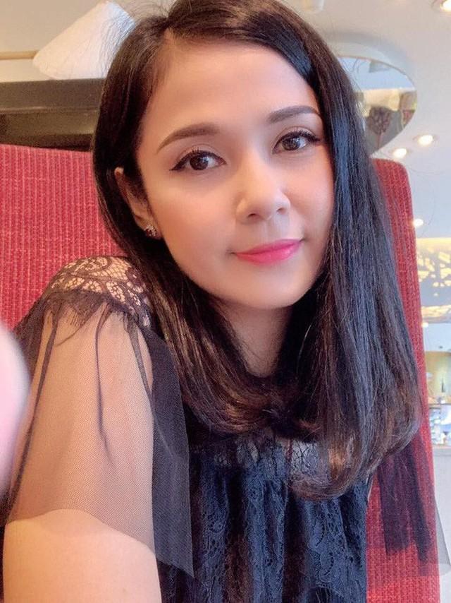 Nhan sắc của Việt Trinh hiện tại.