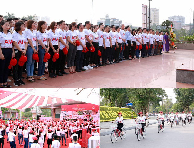 Đây là năm thứ 6 liên tiếp, Hành trình Cuộc sống được tổ chức tại Nghệ An.