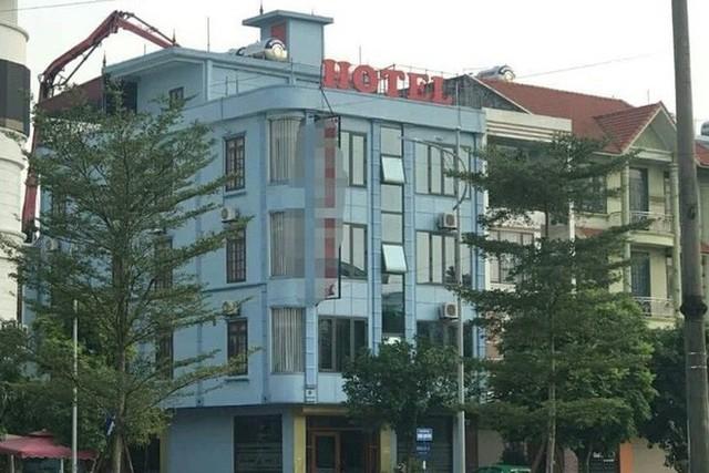 Khách sạn nơi xảy ra sự việc
