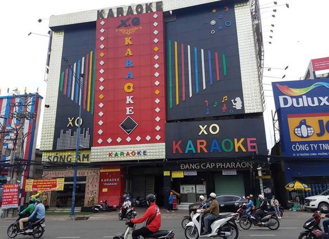 Quán karaoke XO trên đường Trường Chinh, quận 12, TP.HCM - Ảnh: TTO