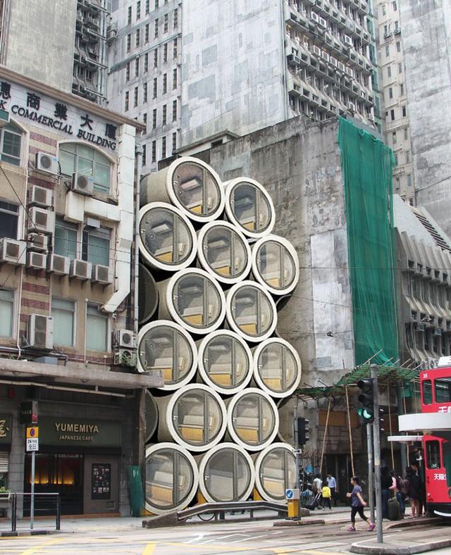 Nhờ giải pháp khéo léo này, giờ đây người ta có thể di chuyển vào một trung tâm thành phố sầm uất ngay cả khi không có căn hộ trống trong khu vực.