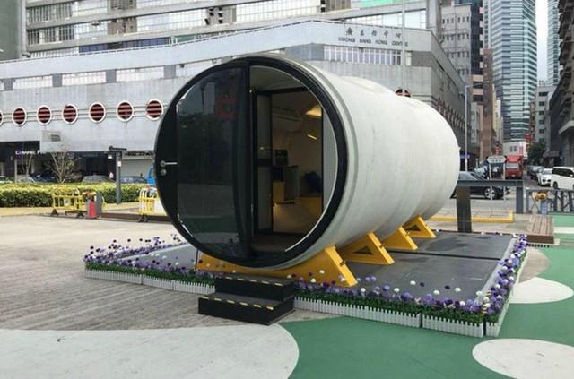 Những chiếc ống bê tông không chỉ dành cho những khoảng trống giữa các tòa nhà. Bạn có thể lắp đặt chúng ở bất cứ đâu.