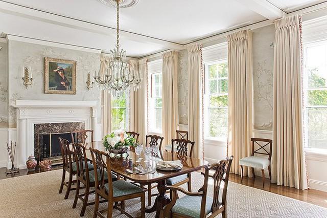 Những gia đình có phong cách nội thất Châu Âu rất thích hợp với thiết kế này.