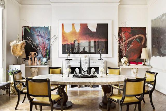 Để có được một thiết kế lò sưởi bên trong phòng ăn bạn cũng không cần mất quá nhiều không gian và diện tích.