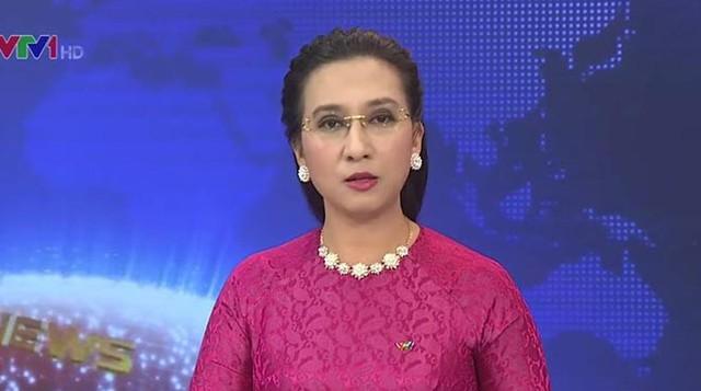 BTV Vân Anh từng nhiều năm giữ sóng Bản tin thời sự 19h của VTV.
