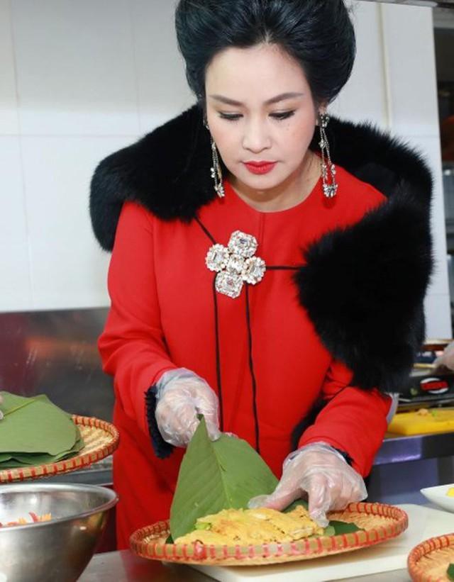 Với Thanh Lam, nấu ăn cũng là nghệ thuật.