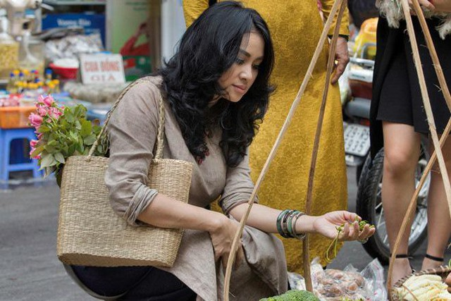 Đi chợ, nấu ăn là niềm đam mê bất tận của nàng Diva.