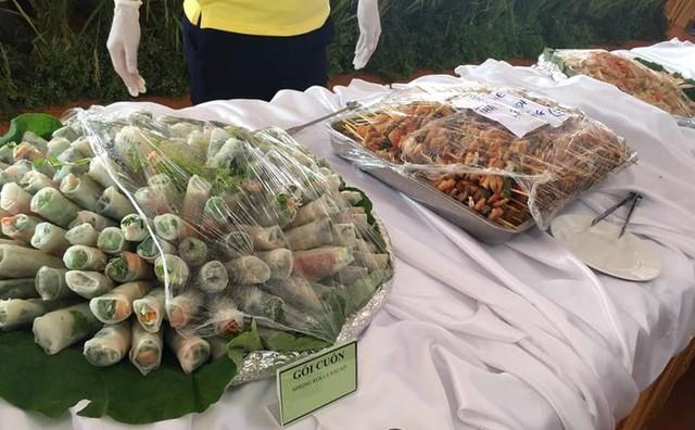 Các món chay mang đậm chất Việt Nam được phục vụ tại Đại lễ Phật Đản