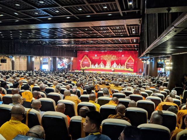 Toàn cảnh buổi lễ Khai mạc Vesak tại chùa Tam Chúc, Hà Nam