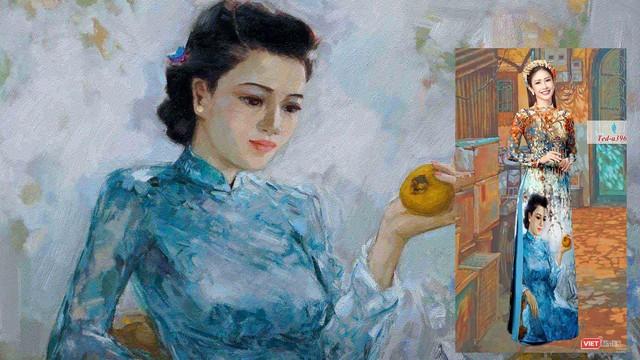 1 trong 2 bức tranh của họa sĩ Lâm Đức Mạnh bị Công ty Phương Mai xâm phạm bản quyền