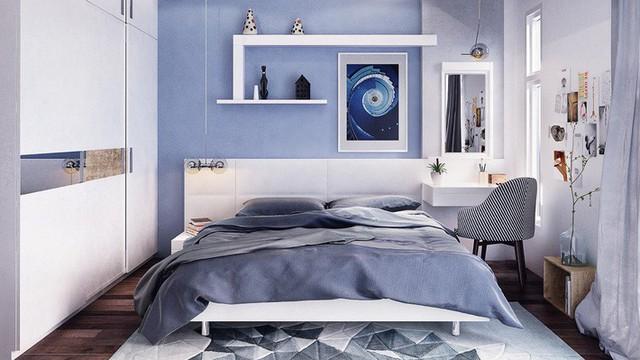 Phòng ngủ nhỏ gọn tiện nghi.