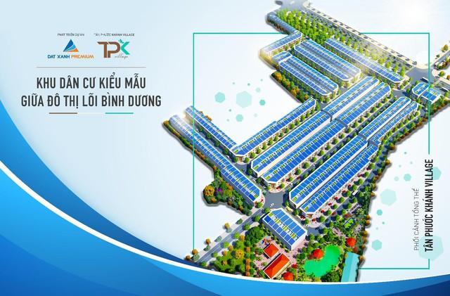 Khu dân cư kiểu mẫu Tân Phước Khánh Village dẫn đầu xu hướng sống cân bằng cho mọi người tại đô thị lõi Bình Dương