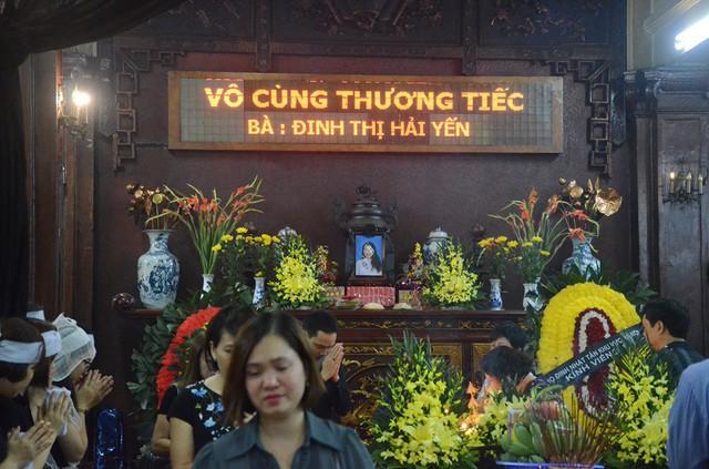 Lễ tang chị Đinh Thị Hải Yến được tổ chức chiều ngày 2/5.