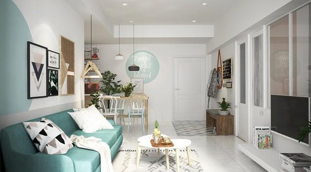 Về mặt phong thủy nội thất màu xanh ngọc giúp bạn lấy lại sự điềm tĩnh, cân bằng và sự hạnh phúc.