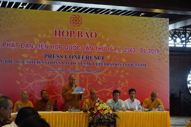 Ban tooe chức thông tin về các công tác chuẩn bị trước Đại lễ. ảnh Phương Thuận