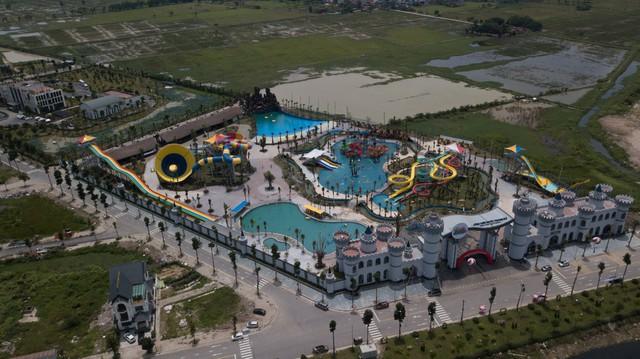 Công viên nước Thanh Hà đã tạm dừng hoạt động.